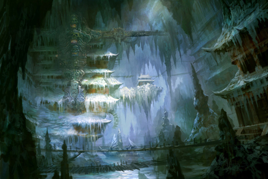 airbrushed artwork cavern concept - photo #15